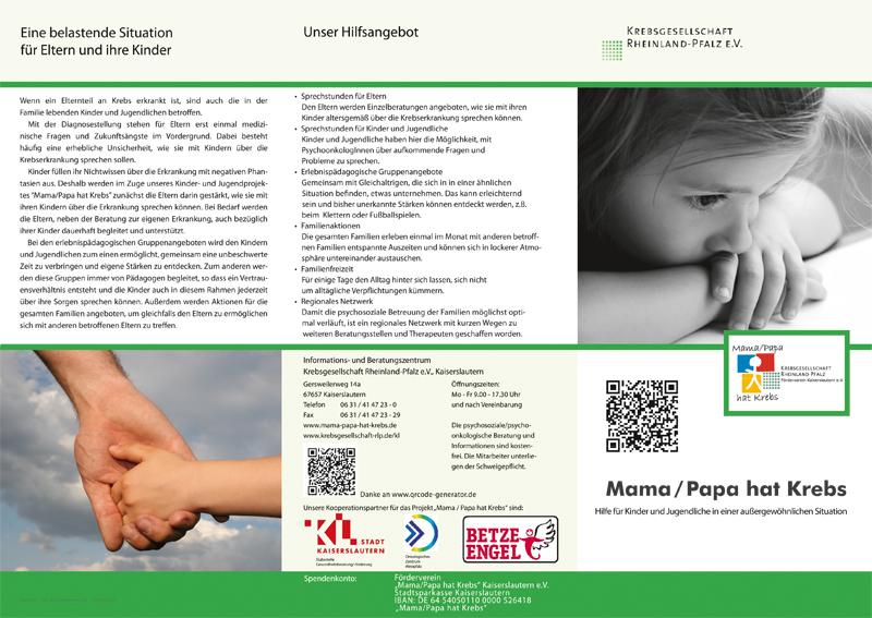 Flyer Und Downloads Mama Papa Hat Krebs Kaiserslautern E V